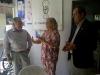 El presidente del Rotary Club Formosa junto a Speit y Albarenque