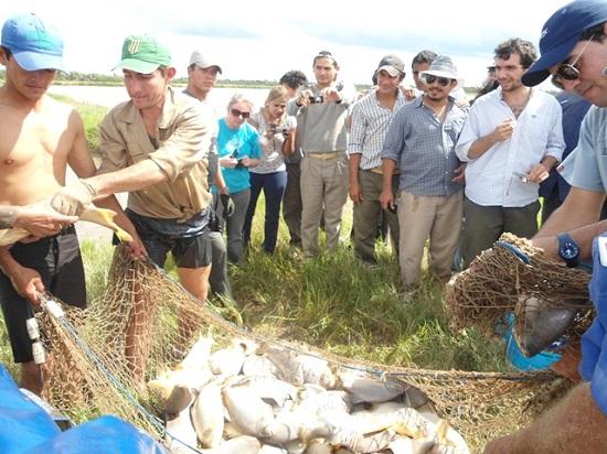 Se capacitará en la producción de peces