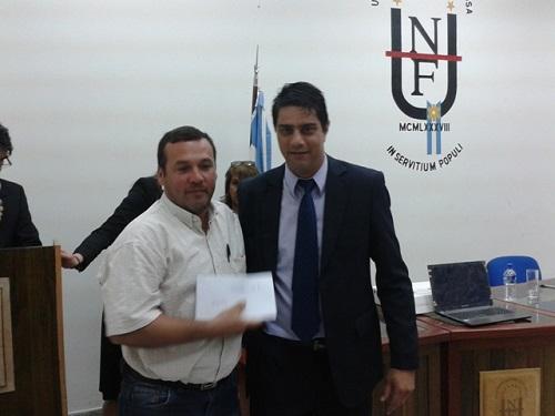El secretario Olmedo entrega fondos del Voluntariado