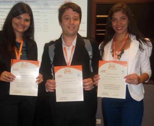 Estudiantes de la UNaF en Colombia
