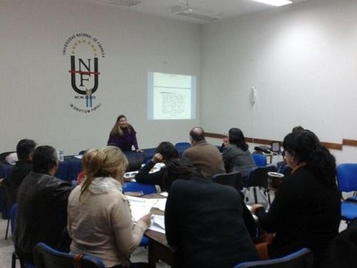 La secretaria García presidió los encuentros institucionales