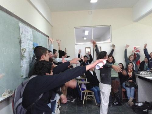 Talleres comunitarios para multiplicar lo aprendido en la Cátedra