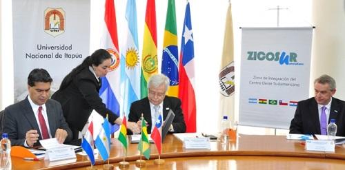 Autoridades de ambas Zicosur suscribieron el convenio