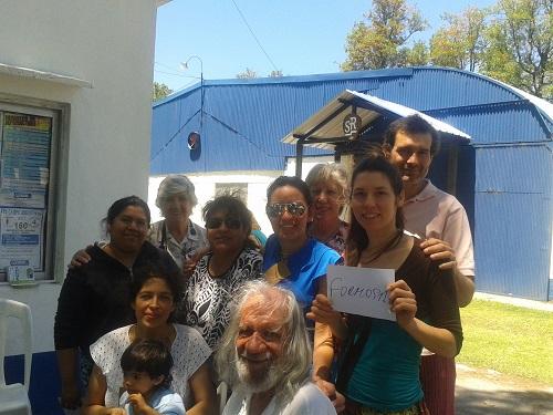 Comitiva de la UNaF en LAICRIMPO 2013