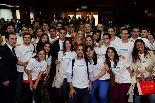 Con los jóvenes, Giorgi presentó 'Capital Semilla Edición Especial'