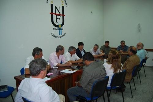 Consejo Asesor del INTA se reunió en la UNaF1