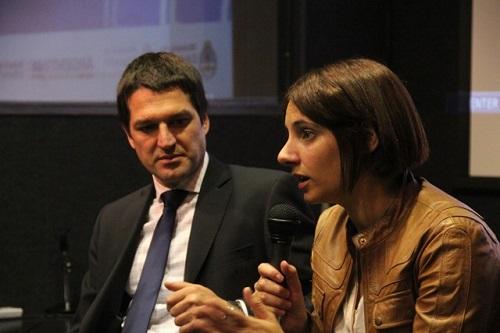 Los subsecretarios Elgarrista y Alonso