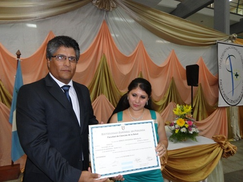 El vicerrector de la UNaF, el doctor Silguero