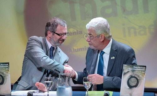 Mouratian y Somoza suscriben el convenio