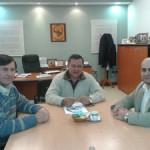 El secretario C+íceres, el rector Romano y el doctor Jerez2
