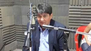 Sánchez entrevistado en la Radio UNaF1