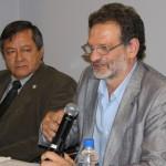 doctor Goldbaum y el rector Romano