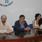 El decano Parmetler, el rector Romano y la doctora Nercesian2