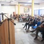 La profesora Bistolfi, coordinadora del IGUNF