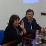 La licenciada Corbi y el rector Romano2