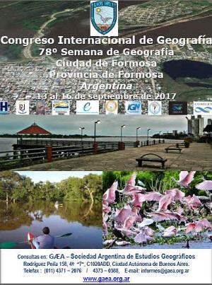 Comienza el Congreso Internacional de Geografía