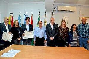 El rector de la UNaF entregó diplomas a nuevos profesionales egresados